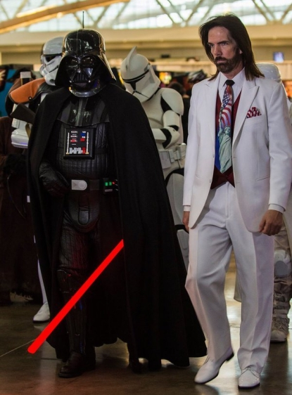 Billy Mitchell & Darth Vader
