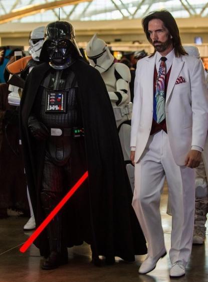 Billy Mitchell & Darth Vader