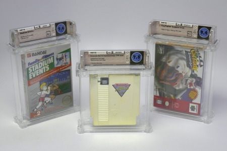 WATA sealed games